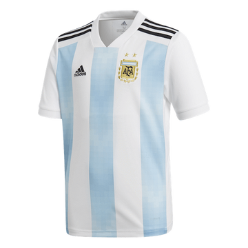 Adidas Argentina Home Youth Jersey - 2018