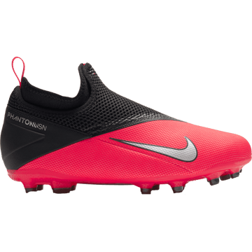 Nike Phantom Vision Academy MG Junior Football Boot - Laser Crimson