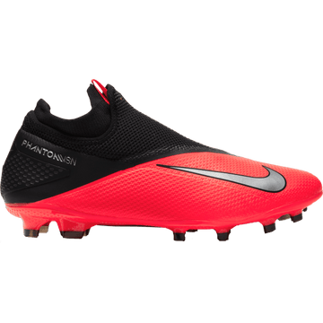 Nike Phantom Vision Pro FG Senior Football Boot - Laser Crimson