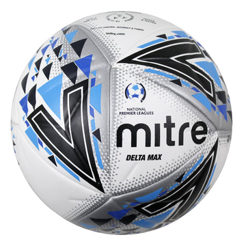 Mitre Delta Max NPL football, Footballs - Licenced FFA, Mitre Sports - Football Galaxy