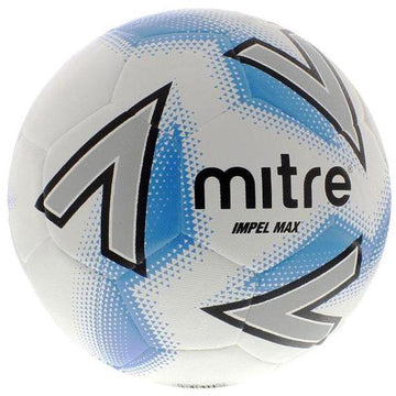 Mitre Impel Max Football - WHT/BLU