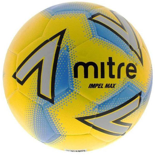 Mitre Impel Max Football - YLW/BLU