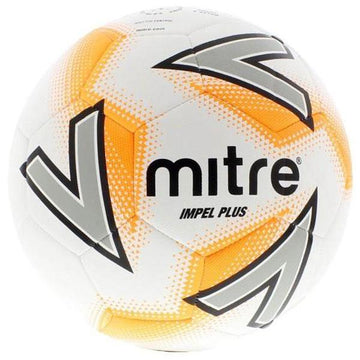 Mitre Impel Plus Football - WHT/YLW