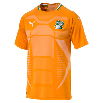 Puma FIF Ivory Coast Home Jersey, Supporter - Replica Kits, Puma - Football Galaxy