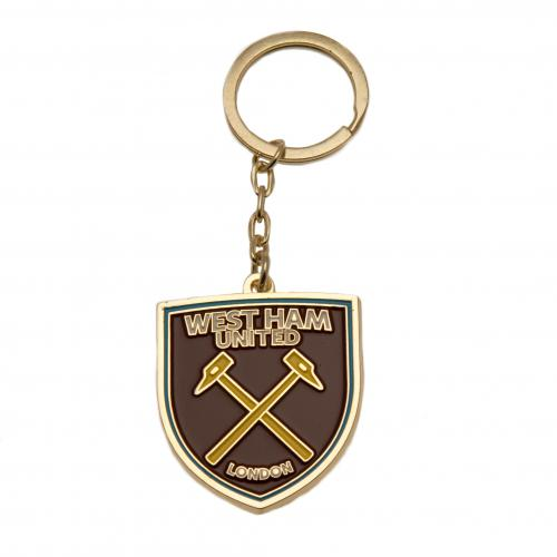 West Ham United F.C. Keyring, Supporter - Accessories, Taylors - Football Galaxy