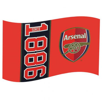 Arsenal F.C Flag, Supporter - Accessories, Taylors - Football Galaxy