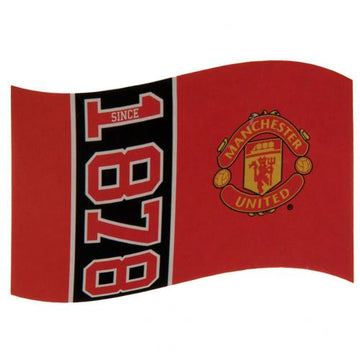 Manchester United FC Flag SN, Supporter - Accessories, Taylors - Football Galaxy