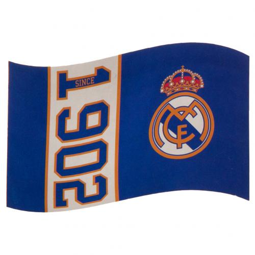 Real Madrid FC Flag SN, Supporter - Accessories, Taylors - Football Galaxy