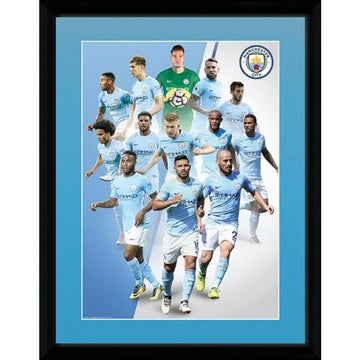 Manchester City F.C. Picture Players 16x12, Supporter - Accessories, Taylors - Football Galaxy