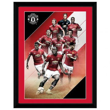Manchester United F.C. Picture Players 16x12, Supporter - Accessories, Taylors - Football Galaxy