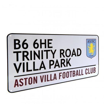 Aston Villa Street Sign, Supporter - Accessories, Taylors - Football Galaxy