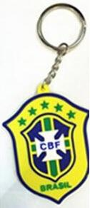 Brazil Key Ring, Team Accessories, Taylors - Football Galaxy
