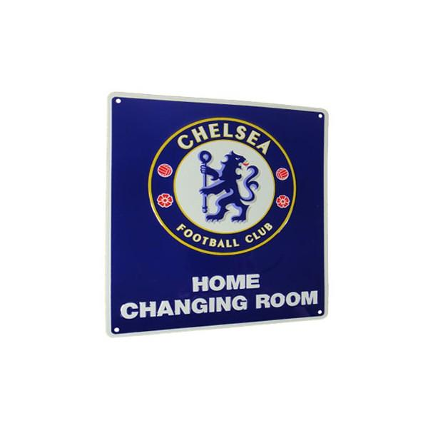 Chelsea FC Home Changing Room Sign, Supporter - Accessories, Taylors - Football Galaxy