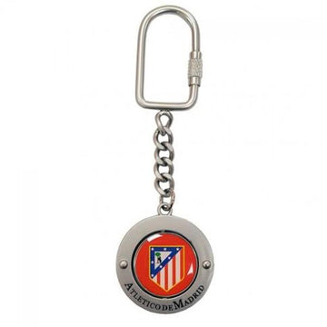Atletico Madrid Spinner Keyring, Supporter - Accessories, Taylors - Football Galaxy