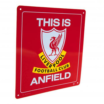 Liverpool FC This is Anfield Sign, Supporter - Accessories, Taylors - Football Galaxy
