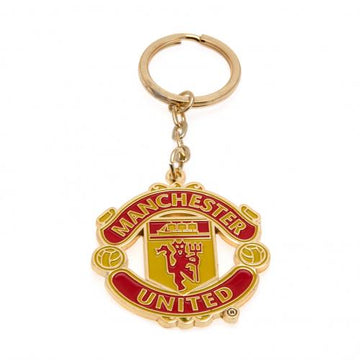 Manchester United FC Keyring, Supporter - Accessories, Taylors - Football Galaxy