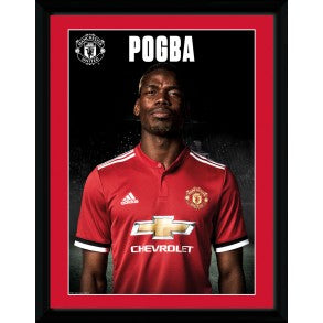Manchester United FC Pogba Picture Frame, Supporter - Accessories, Taylors - Football Galaxy