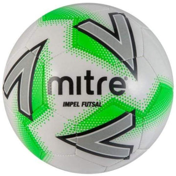 Mitre Impel Futsal Ball - WHT/GRN