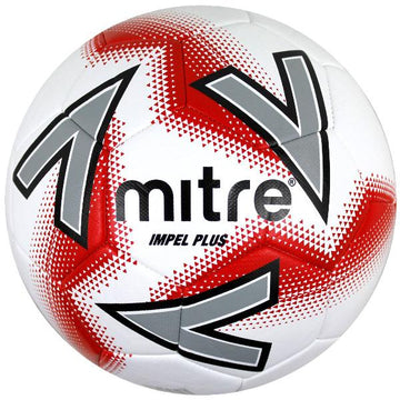 Mitre Impel Plus Football - WHT/RED