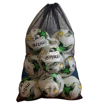 Mitre Mesh Ball Sack holds 10, Equipment - Ball Bags, Mitre Sports - Football Galaxy