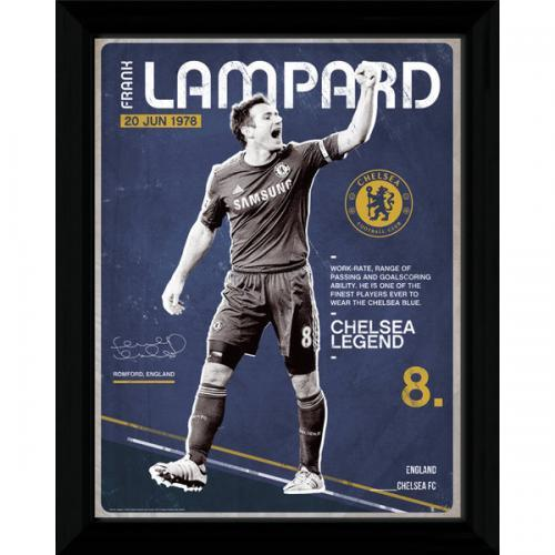 Chelsea FC Picture Lampard, Supporter - Accessories, Taylors - Football Galaxy