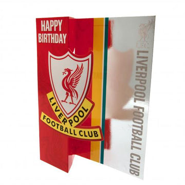 Liverpool FC Birthday Card, Supporter - Accessories, Taylors - Football Galaxy