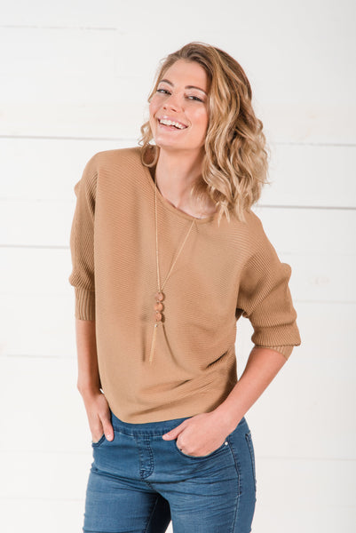 Maeve Textured Top