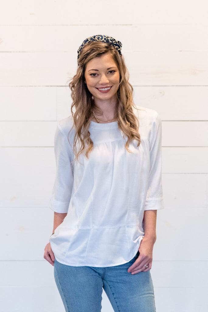 Brigette Structured Blouse