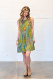 Stained Glass Ella Batik Dress