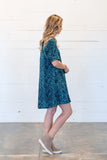 Layla Swing Dress in Navy