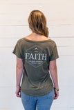 Faith Can Move Mountains Ladies Tee