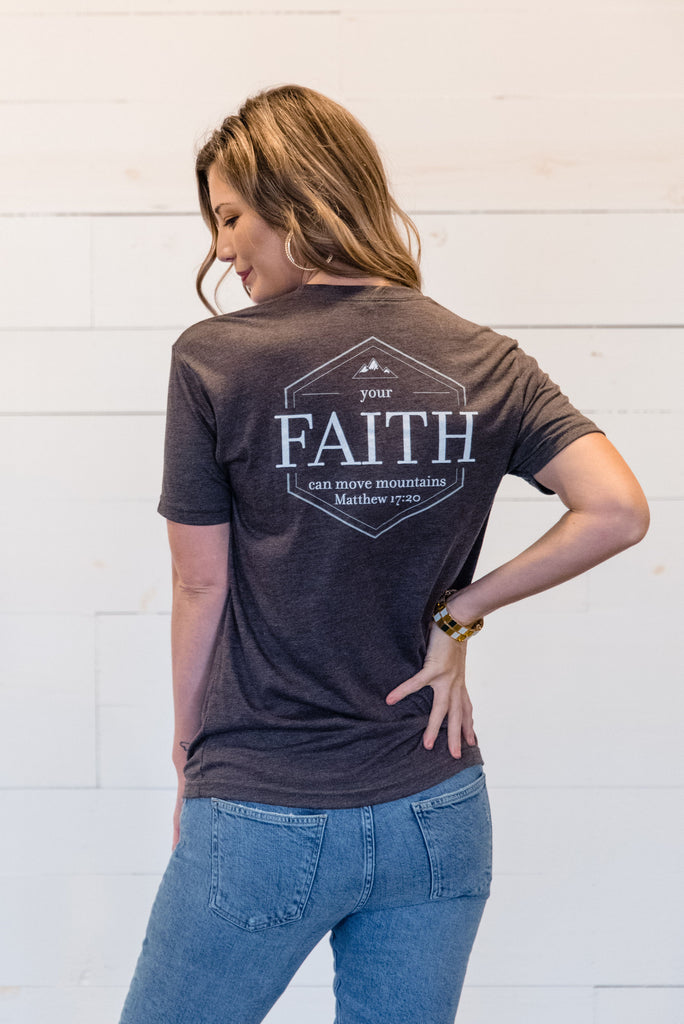 Faith Can Move Mountains Unisex Tee