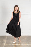Essential Black Maxi Dress