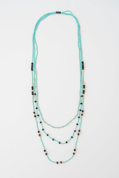 Long & Layered Beaded Necklace