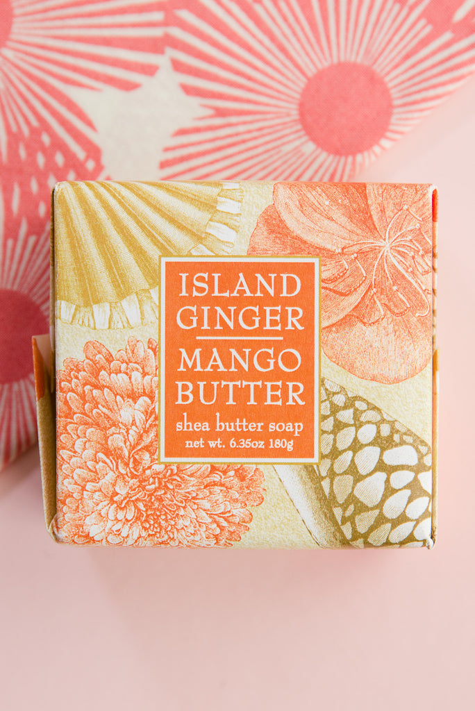 Island Ginger + Mango Butter Large Soap