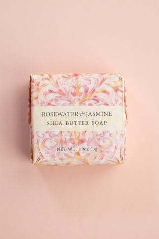 Rosewater + Jasmine Small Soap