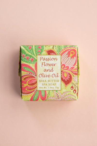 Passion Flower + Olive Oil Small Soap