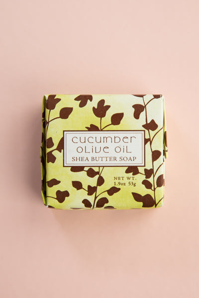 Cucumber Olive Oil Small Soap