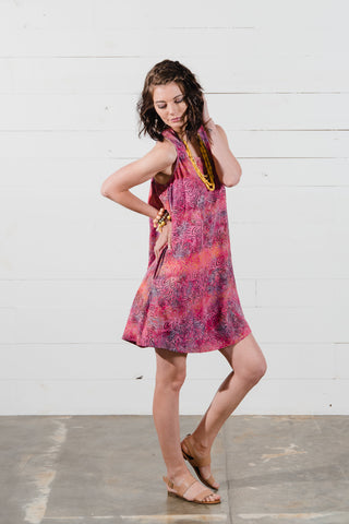 Layla Swing Dress in Pink