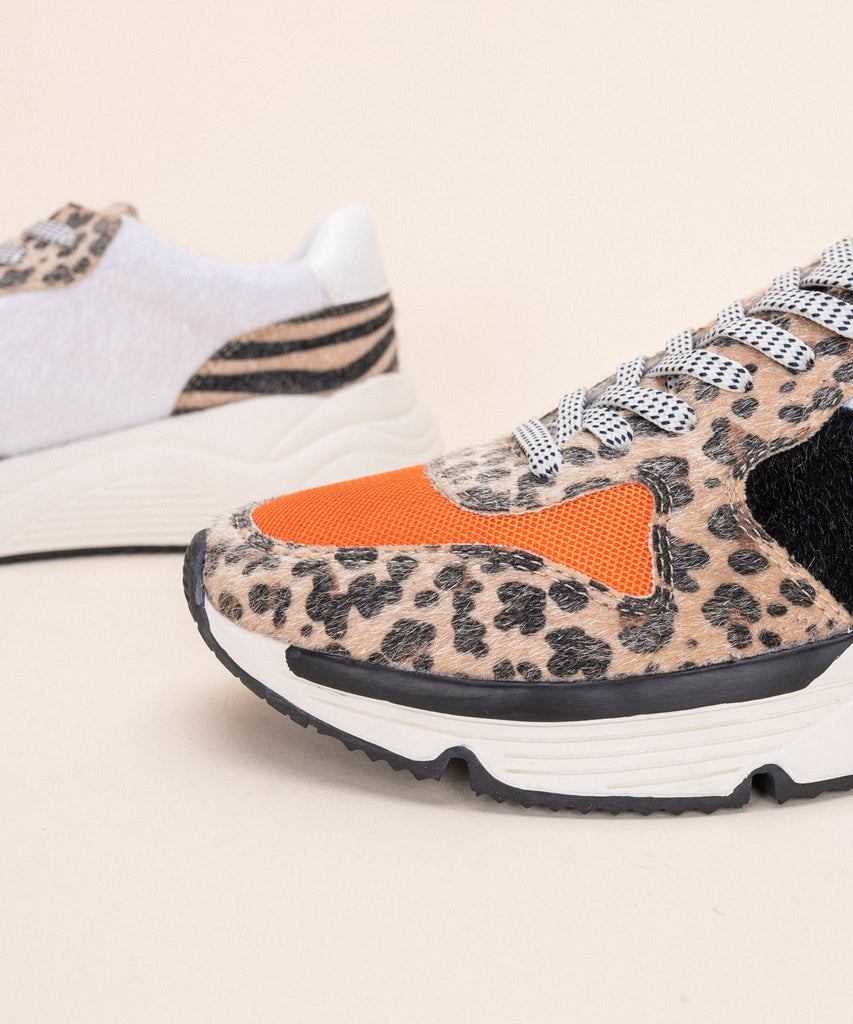 Willow Leopard Sneakers
