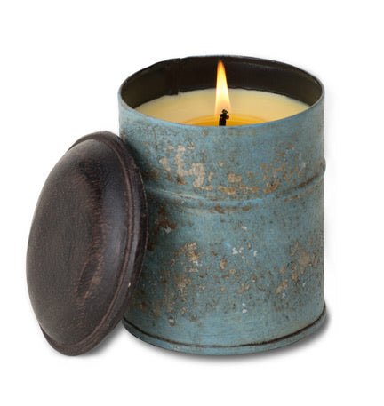 Orange Grove Spice Tin Candle