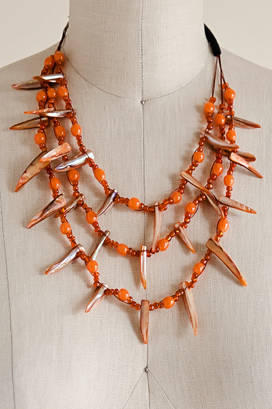Doral necklace for Go fish clothing