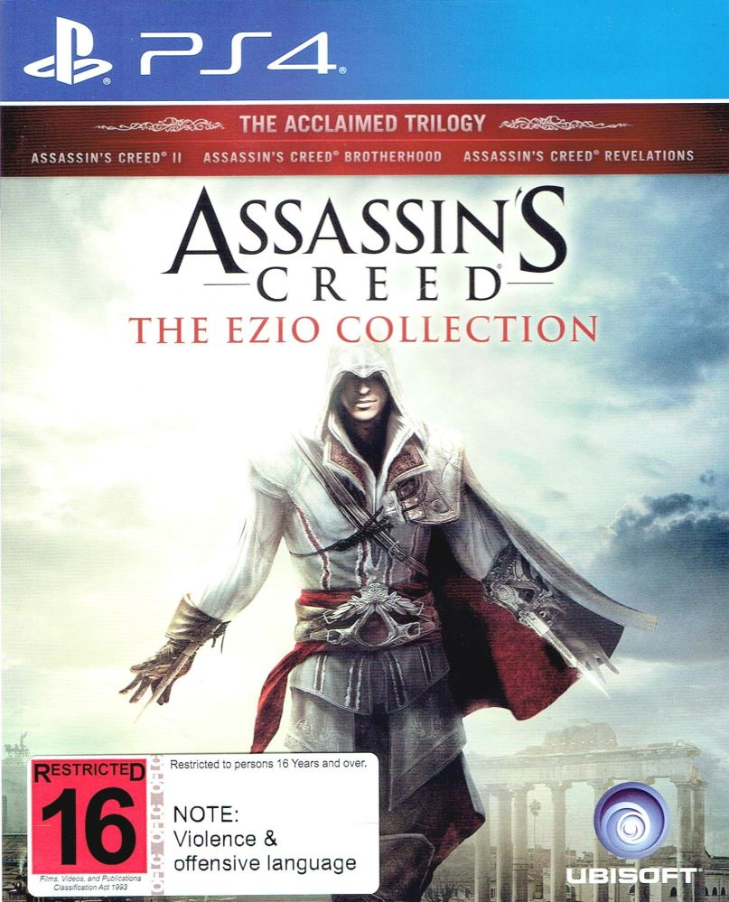 Assassin S Creed The Ezio Collection Ps4 Ggstore Co Nz