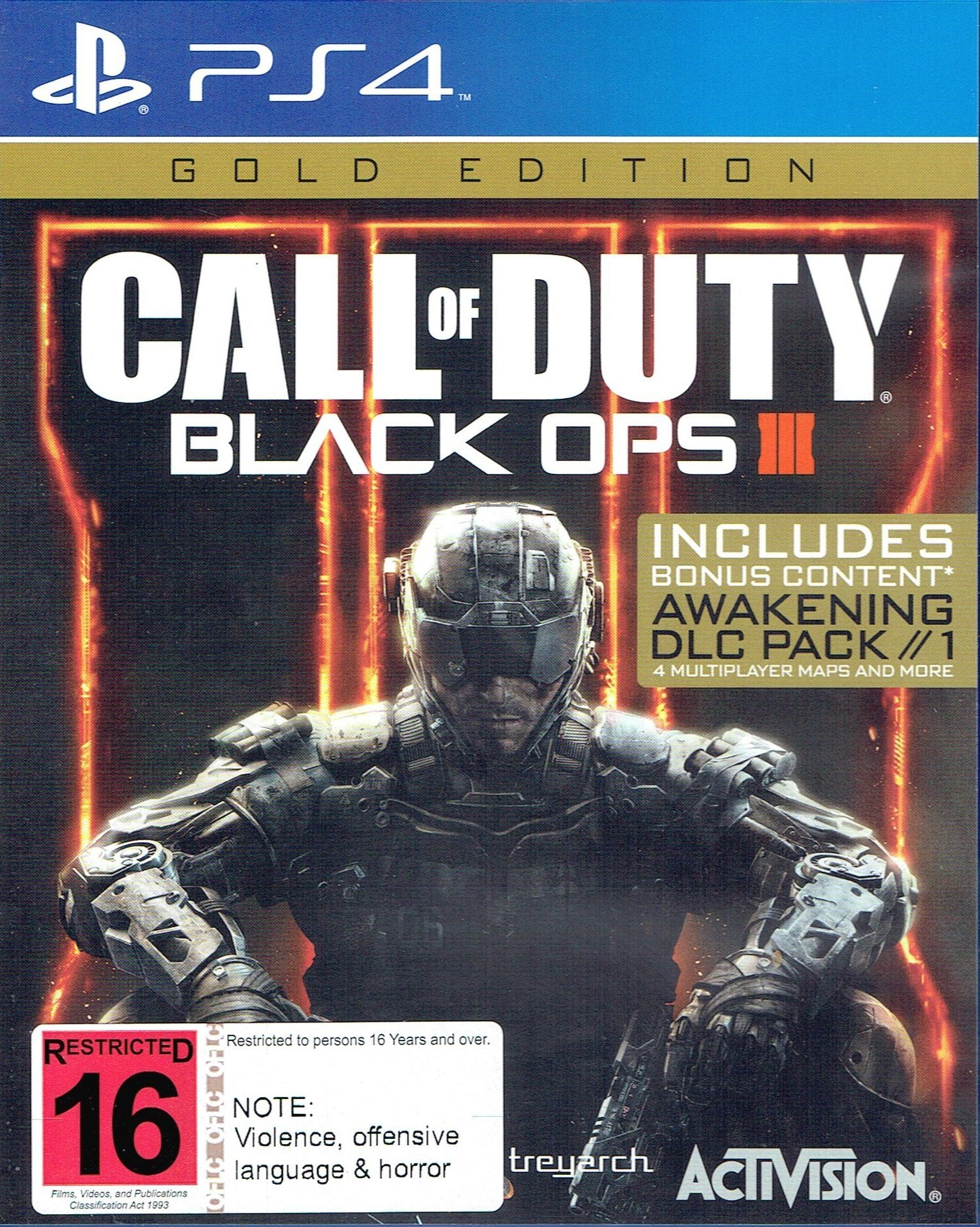 Call of Duty: Black Ops III - Gold Edition PS4