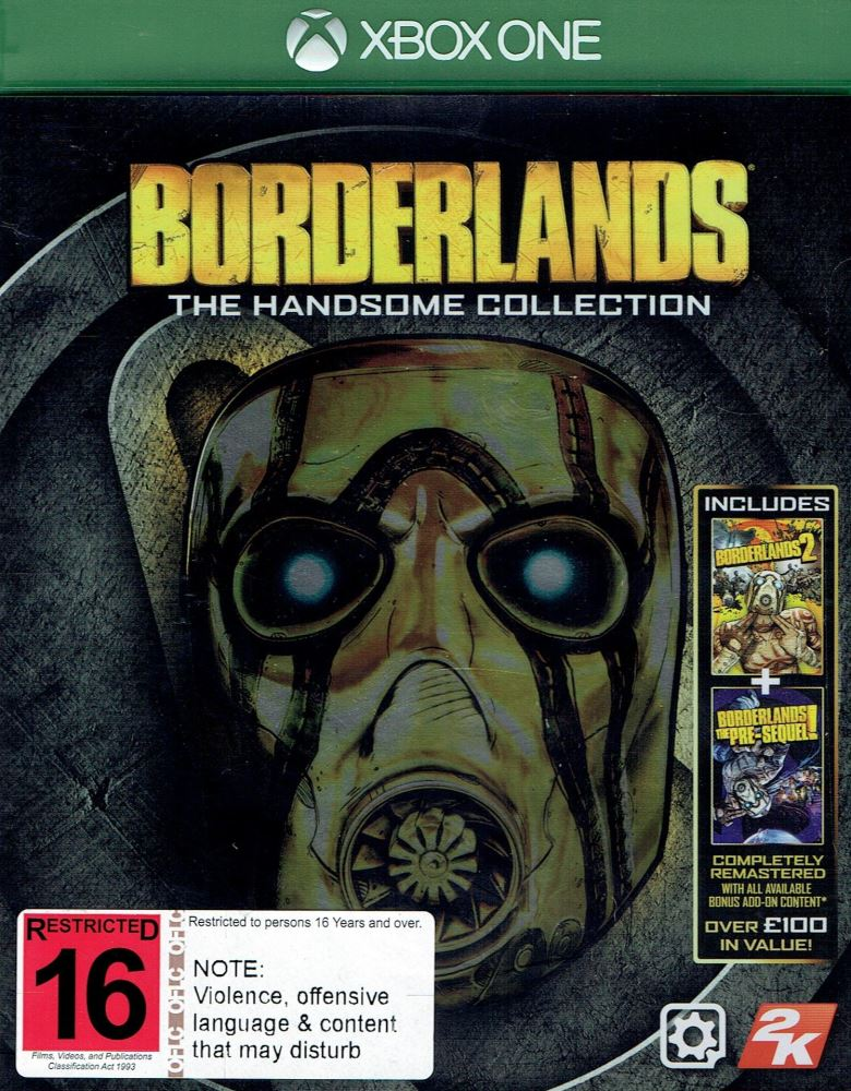 Borderlands handsome collection include 1