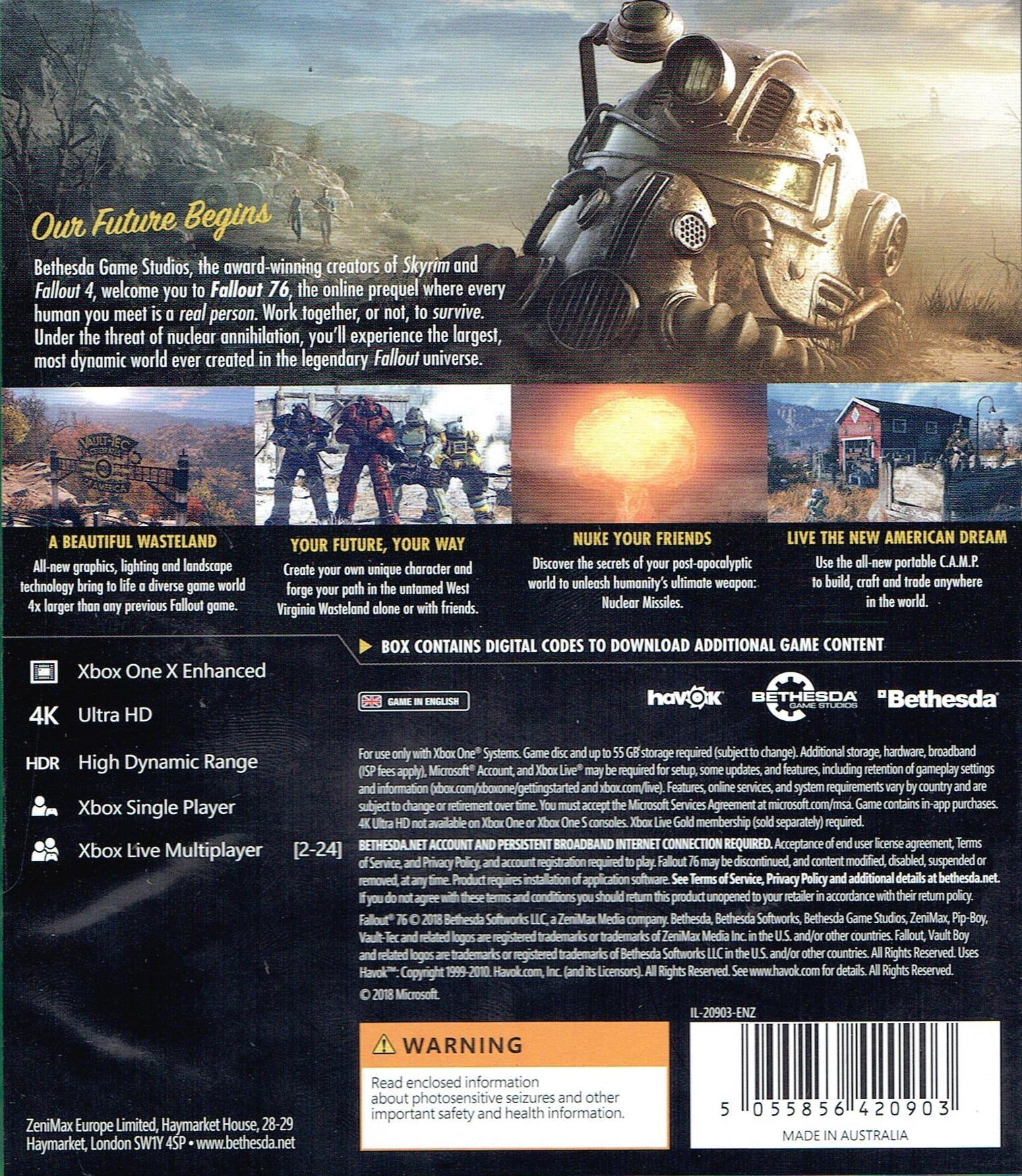 Fallout 76 (Xbox One) | GgStore co nz