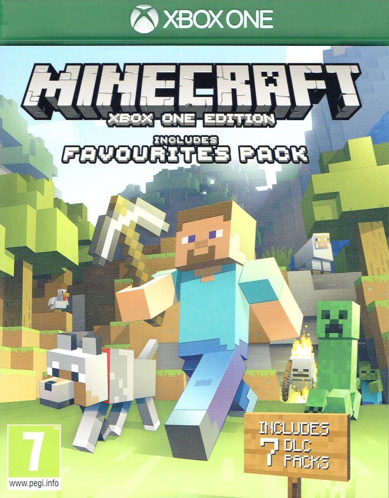 Minecraft: Xbox One - Favorites Pack Xbox One