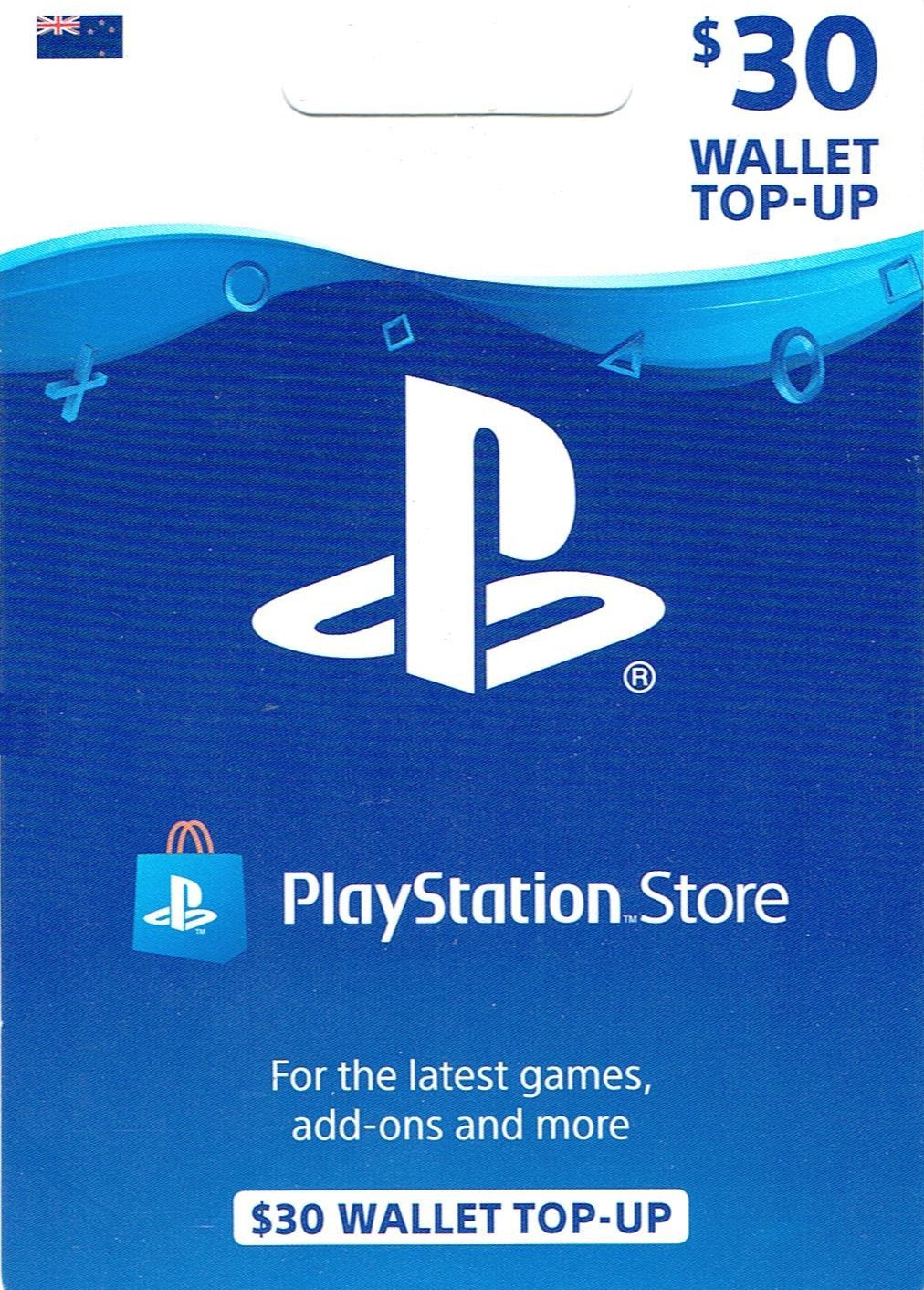 Playstation Store $30 Top Up | GgStore.co.nz