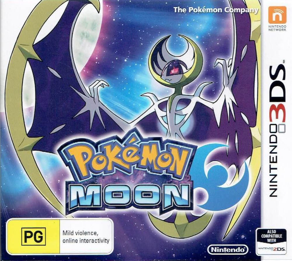 pokemon moon 3ds | ggstore.co.nz