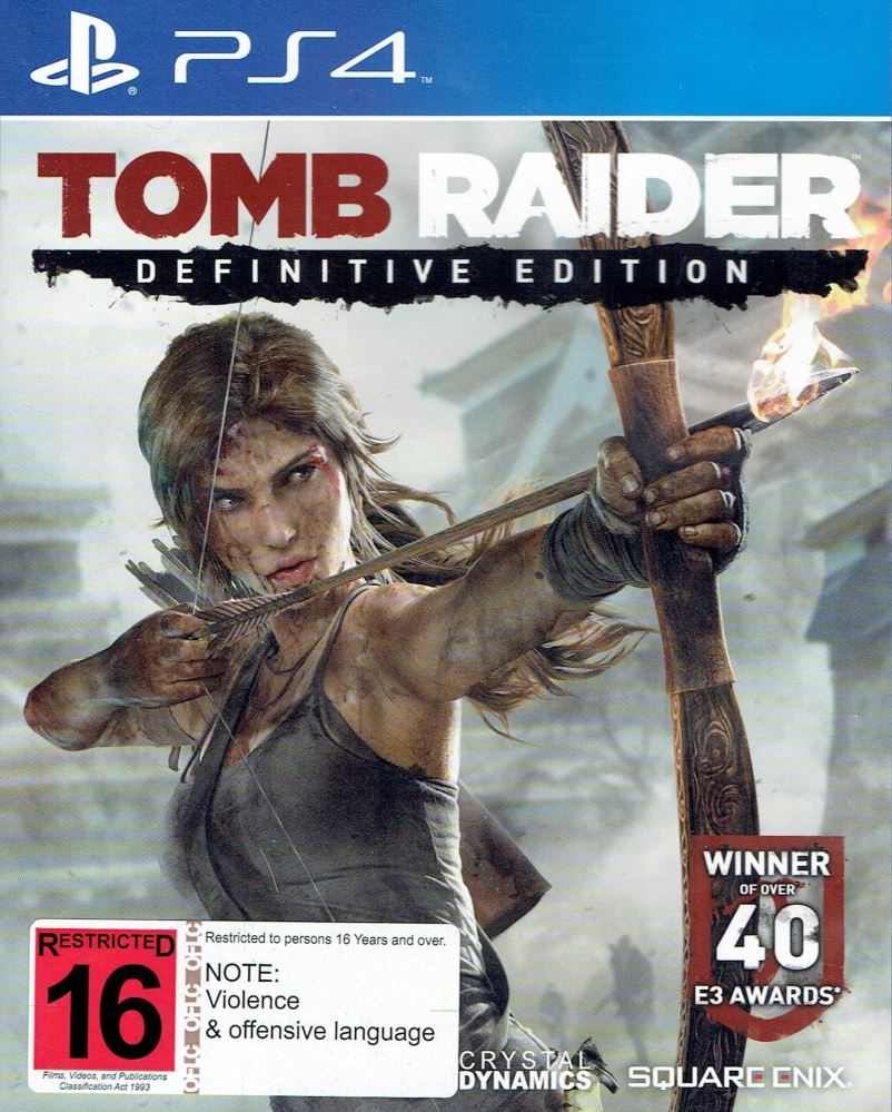 Tomb Raider Definitive Edition For Xbox One And Ps4 4k Hd: Tomb Raider Definitive Edition PS4